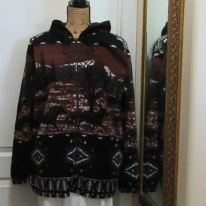 Jackets & Blazers - Fuzzy Coat with Horse Size Xlarge Possible